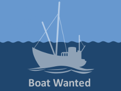 15-19 foot planing hull boat wanted with 'hooks and lines' bass entitlement - ID:113328