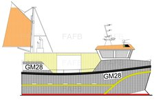 GM Tiger 28 Norwegian style inshore fishing vessel built by Padstow Boatyard - GM 28 - New Build - ID:100113