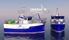 11, 95 9, 95 CATAMARAN - NEW FISHING VESSEL DESIGNS. - ID:110023