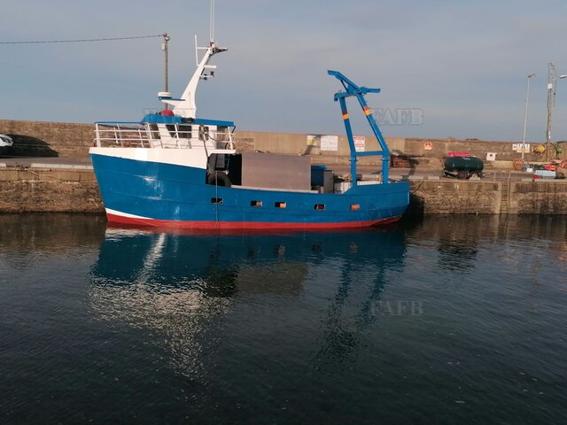 Multi- purpose steel fishing boat - picture 1