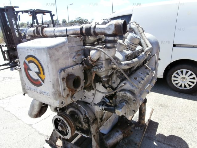 DETROIT DIESEL 6V92 TA MARINE ENGINE - picture 1