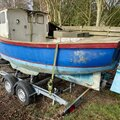 Classic Boat, Newly Rebuilt Perkins Engine & As New Trailer. - picture 3