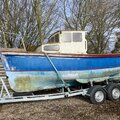 Classic Boat, Newly Rebuilt Perkins Engine & As New Trailer. - picture 2