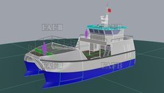 PB50 Displacement / Fastcat built by Padstow Boatyard - PB50 Displacement / Fast Cat - New Build - ID:104292