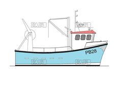 PB28 Trawler / Gill Netter - Gary Mitchell designed GRP new build - PB28 Trawler / Gill Netter - New Build - ID:115341