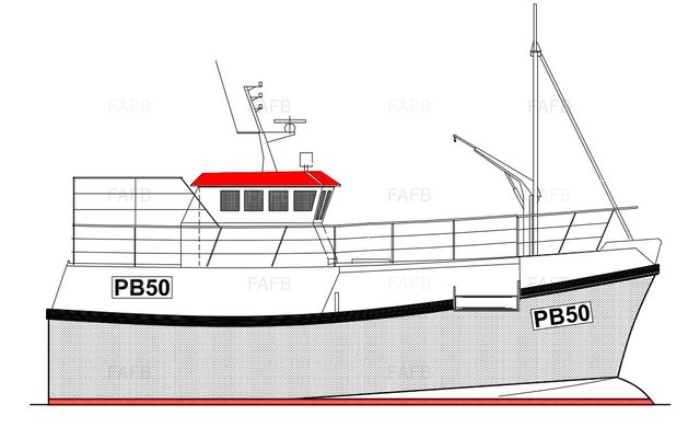 PB50 Vivier Potter/Trawler - Gary Mitchell 15m design built by Padstow Boatyard - picture 1