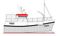 PB50 Vivier Potter/Trawler - Gary Mitchell 15m design built by Padstow Boatyard - PB50 - New Build - ID:104374