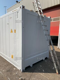 40FT HIGH CUBE INSULATED CONTAINERS, CONVERTED FROM REFRIGERATED UNIT - ID:117385