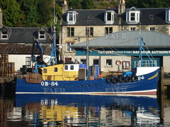 Gerrards of Arbroath trawler/scalloper - Silver Fern OB84 - ID:109460