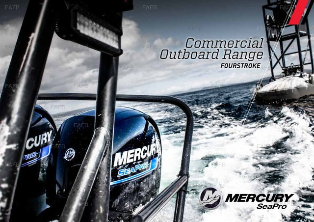 Mercrury SeaPro Commercial Outboards - picture 1