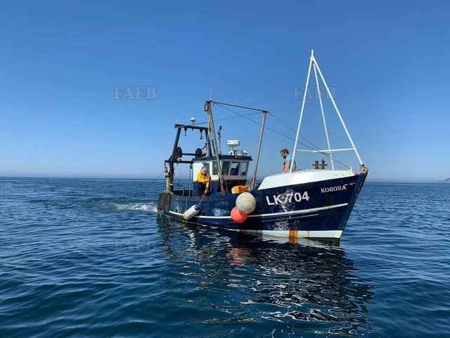 French built trawler scalloper - picture 1