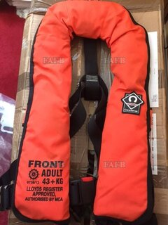 boat - UNUSED TWIN CHAMBER LIFEJACKETS  - ID:115611