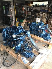 Pair of Perkins 4 HD 76 marine Diesel engines - ID:91064