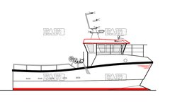 PB Cat 33 - Displacement / Semi Displacement catamaran by Padstow Boatyard - PB Cat 33 - New build - ID:107686