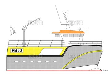 PB Tiger 50 double chine GRP Norwegian style fishing vessel - PB Tiger 50 - New build - ID:105723
