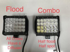 AAA CREE LIGHT BARS . Flood, Combo, Spot same day dispatch before 14:00 - ID:114763