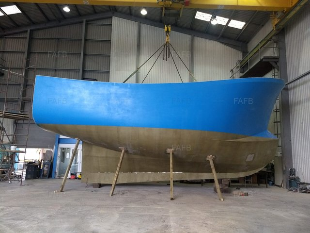 PB40 Vivier Potter/Trawler - Gary Mitchell 12m design built by Padstow Boatyard - picture 1