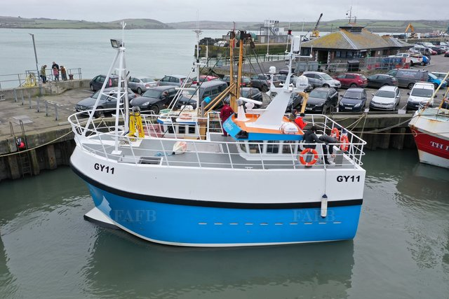 PB40 Crabber / Trawler - Gary Mitchell 11.95m design built by Padstow Boatyard - picture 1