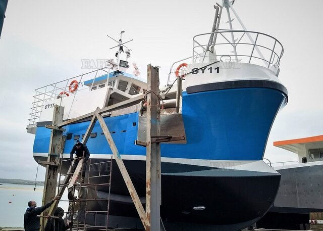 Latest Gary Mitchell design PB40 Crabber / Trawler - GRP new builds - picture 1