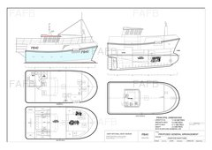 Gary Mitchell design PB40 new build grp trawler/potter - PB40 - ID:91780