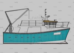 Gary Mitchell design - PB40 - new build grp trawler/potter - PB40 - ID:91780