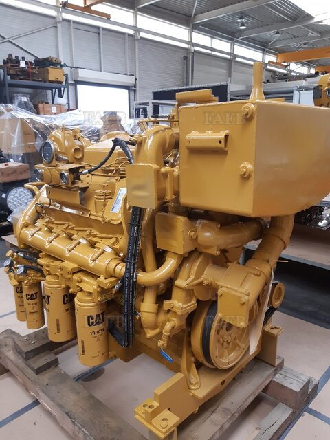 FULLY REBUILT CAT 3408C DITA MARINE ENGINE - picture 1