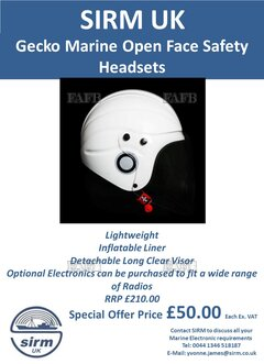 Marine Open Face Safety Helmets - ID:117085