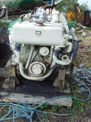 FORD MERMAID MONARCH 212HP MARINE ENGINES WITH GEARBOXES X 2 - ID:90989