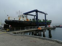 Dutch barge - Crooksetter - ID:111990